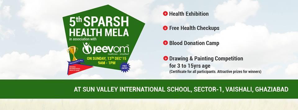 5th Sparsh Health Mela, Vaishali, Ghaziabad