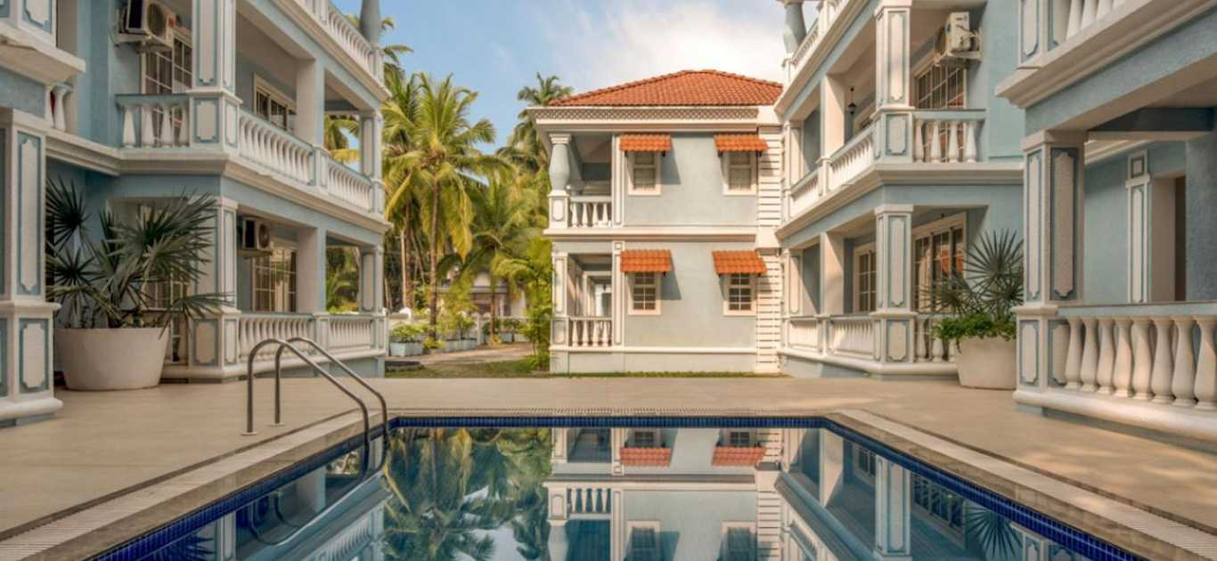 Bellagio Rezidencia,a residential apartments project located in North Goa.