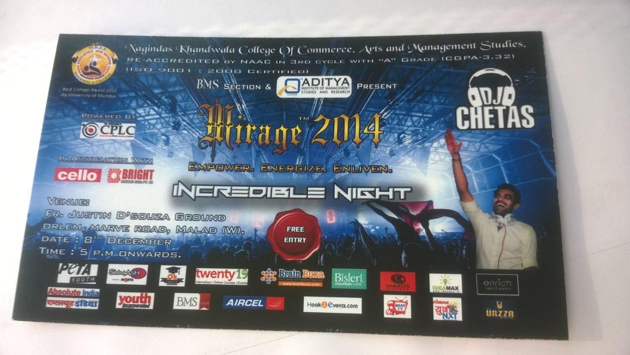 Mirage 2014 Mumbai
