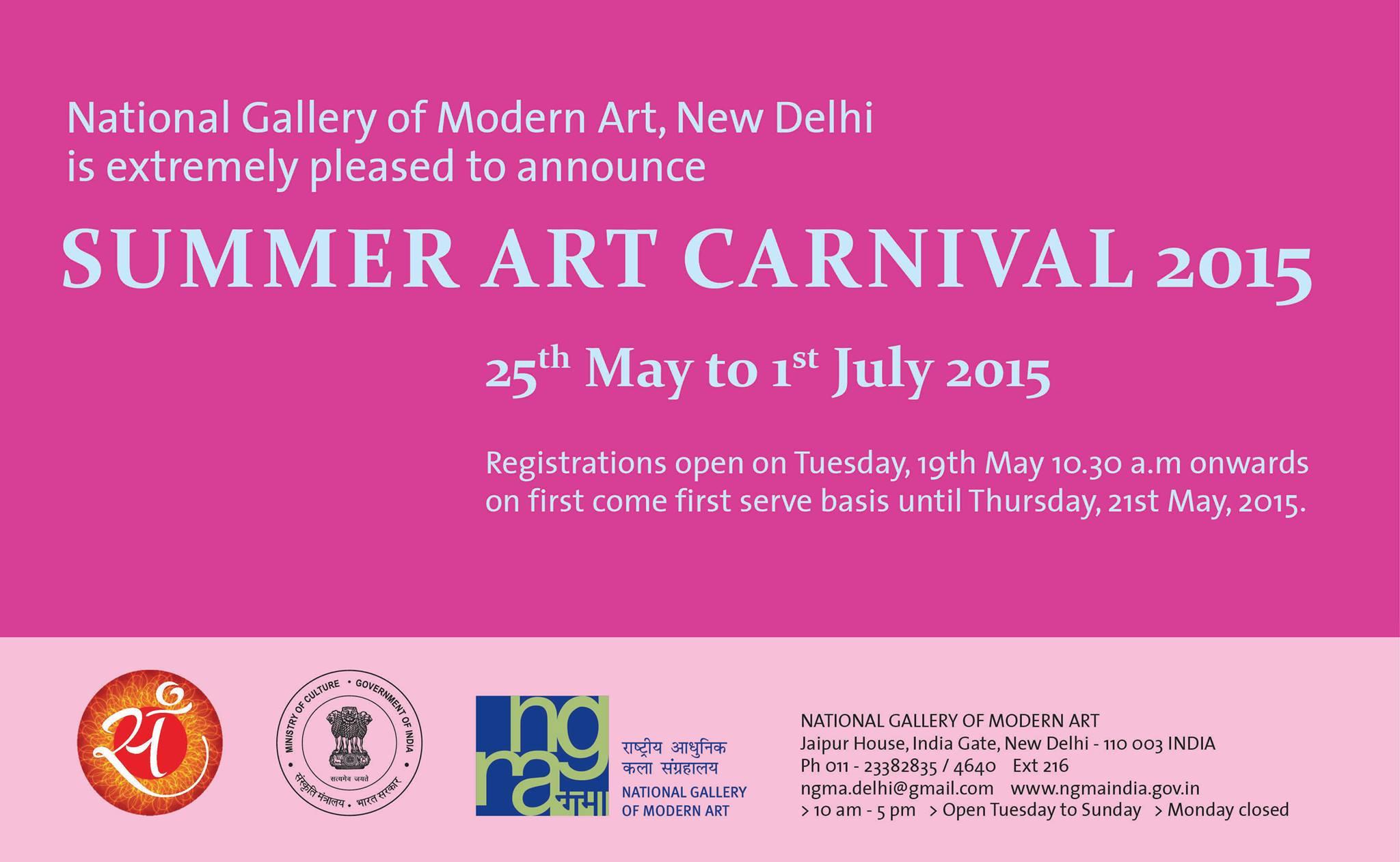 NGMA SUMMER ART CARNIVAL 2015