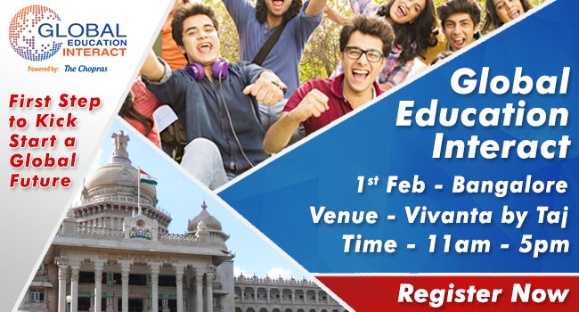 Global Education Fair 2017 in Bangalore  - Free Registration
