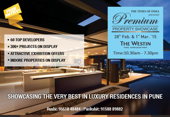 TIMES PROPERTY EXPO - PUNE PREMIUM PROPERTY SHOWCASE