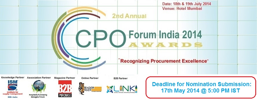 2nd Annual CPO Forum India & Awards 2014