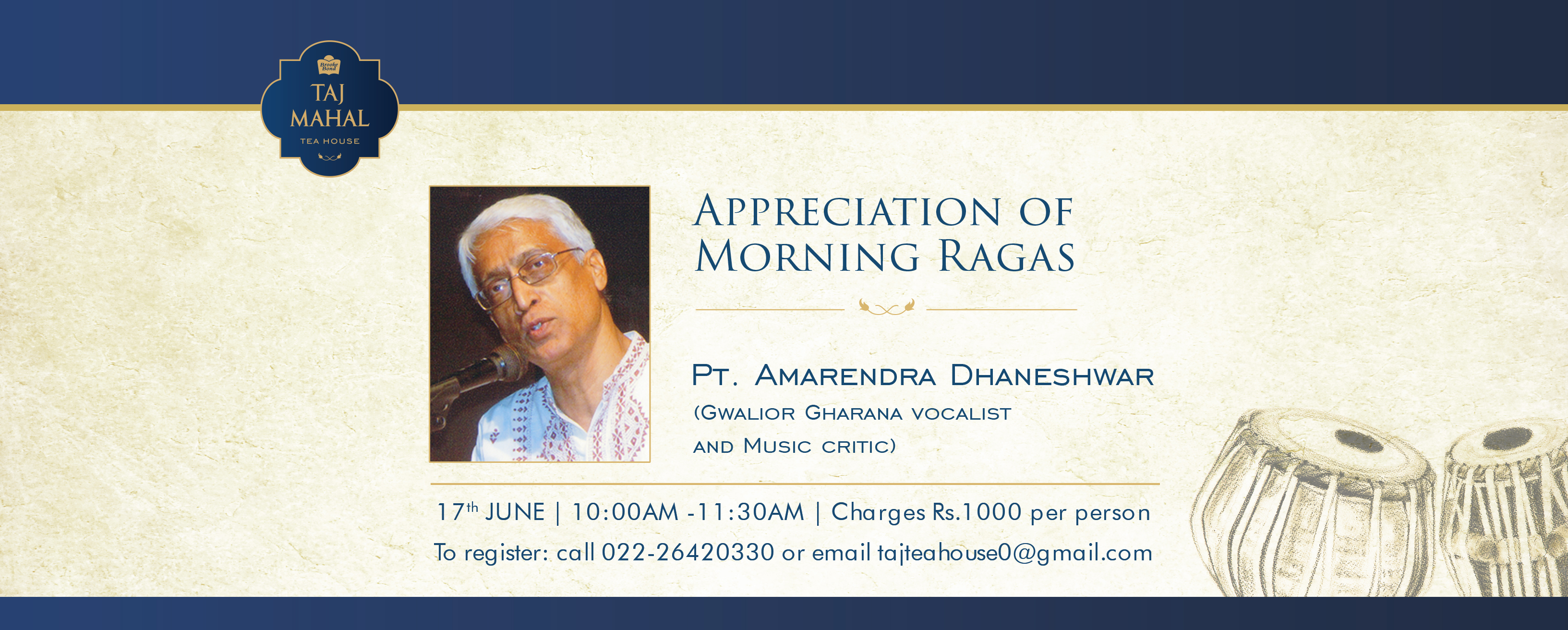 Appreciation of Morning Ragas: Lecture Cum Demonstration