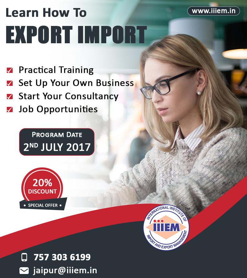 Import Export Training Jaipur