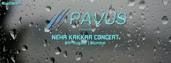 NEHA KAKKAR LIVE IN MUMBAI ON 8th Aug 2015