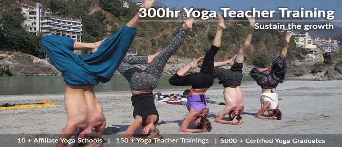 300-Hour Hatha Yoga Teacher Training Rishikesh, India