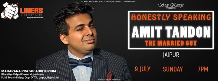 Punchliners: Stand Up Comedy Show ft. Amit Tandon in Jaipur