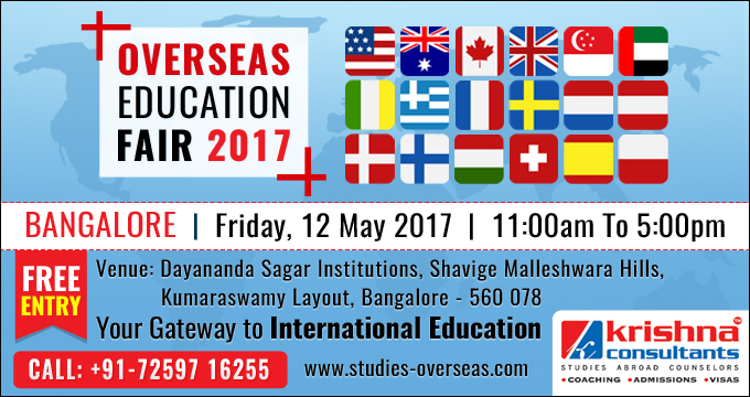 Overseas Education Fair at Bangalore