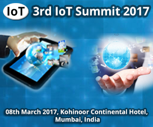 3rd IoT Summit 2017