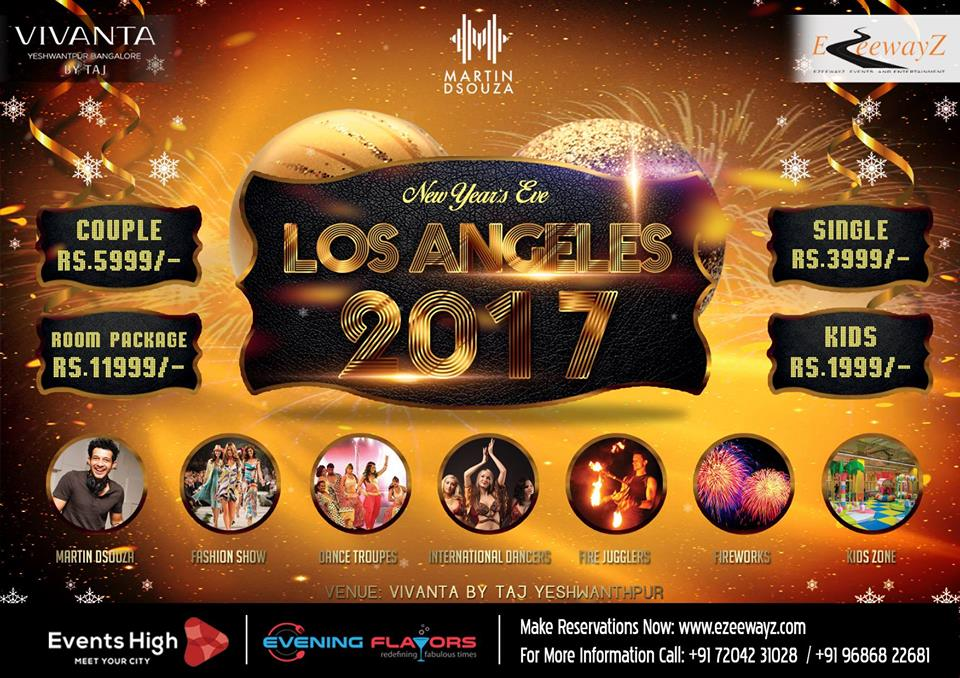 LOS ANGELES NEW YEAR EVE 2017