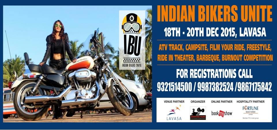 Indian Bikers Unite at Lavasa