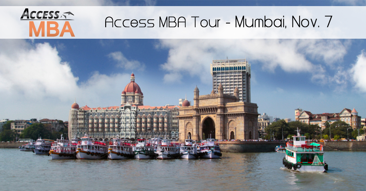 The worldwide One-to-One MBA events is coming to India.