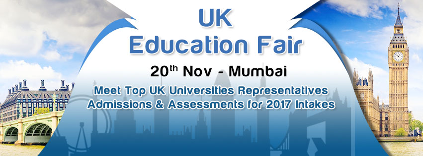 Gear Up Mumbai for UK Education Fair 2016