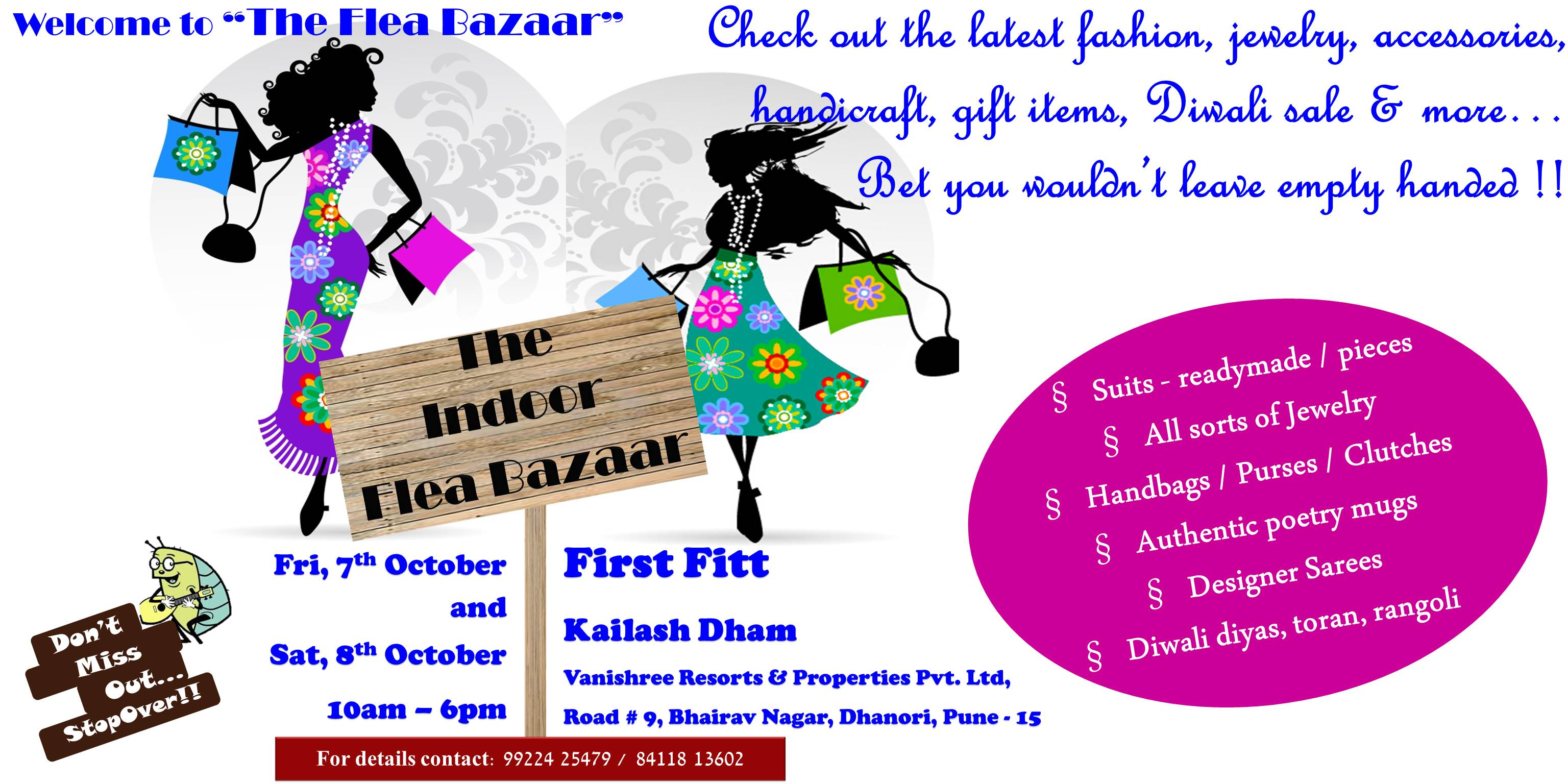The Flea Bazaar @ Kailash Dham, Dhanori