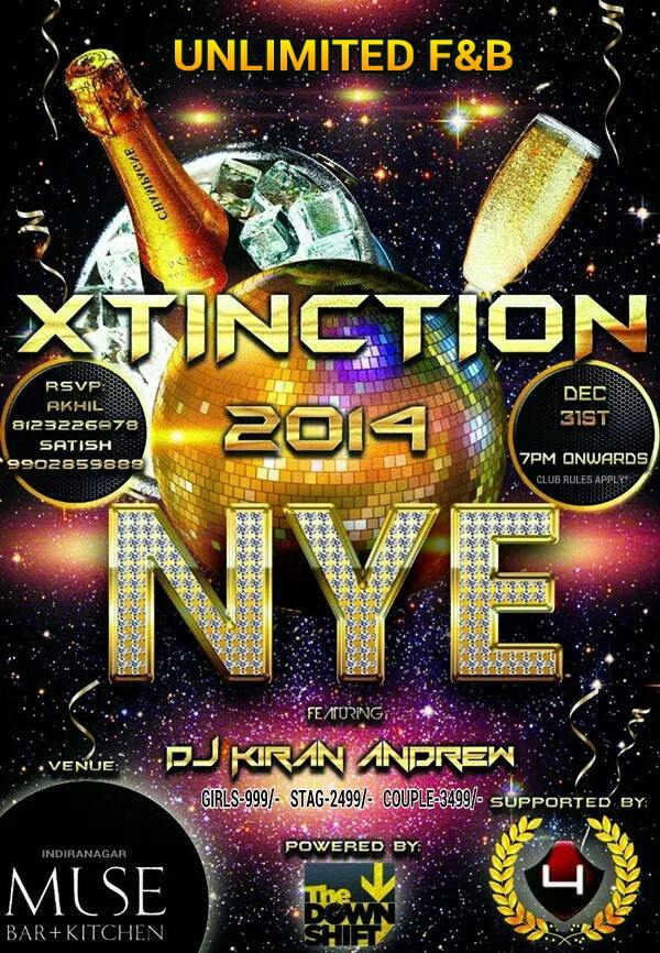 XTINCTION 2014 NYE