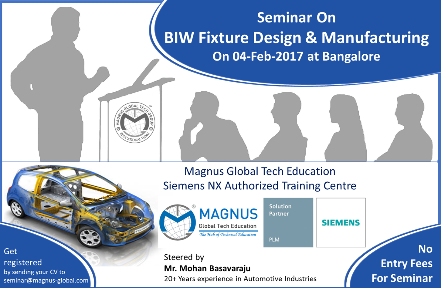 Seminar On BIW Fixture Design Engineering