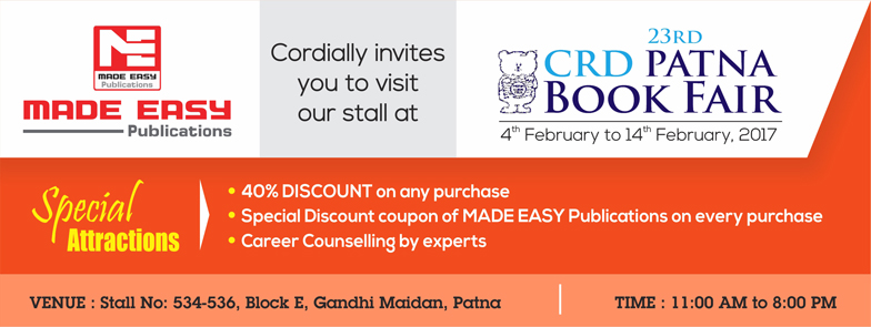 MADE EASY Publications at 23rd CRD Patna Book Fair