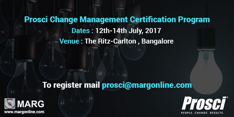 Prosci Change Management Certification Program - July 2017