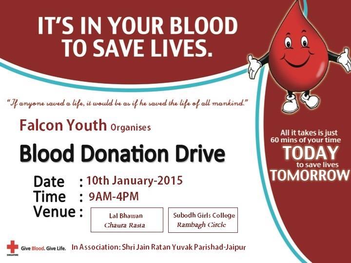 Blood Donation Camp events Jaipur