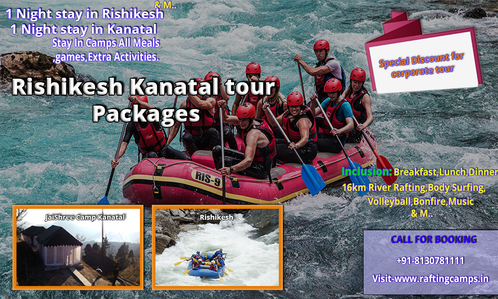 Rafting and Camping at Rishikesh Tour