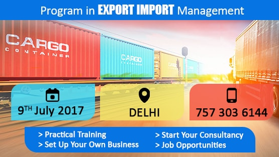 Program in export and import management