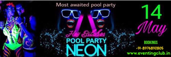 Biggest Neon Pool Party