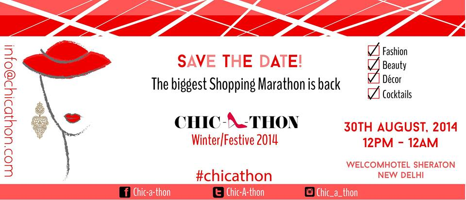 Chic-a-thon Winter Shopping Festive 2014 Delhi