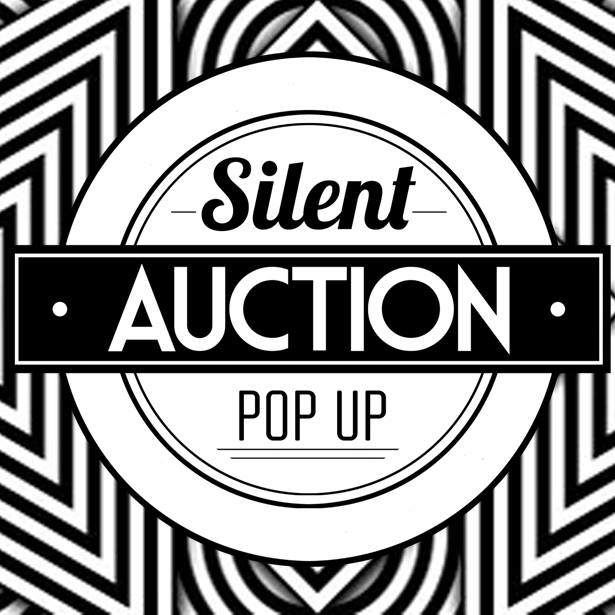 THE SILENT AUCTION POP-UP