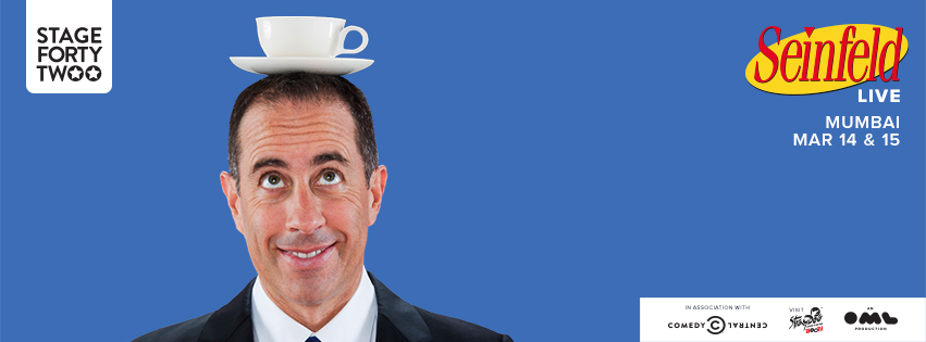Jerry Seinfeld In Mumbai at Stage42 Festival!