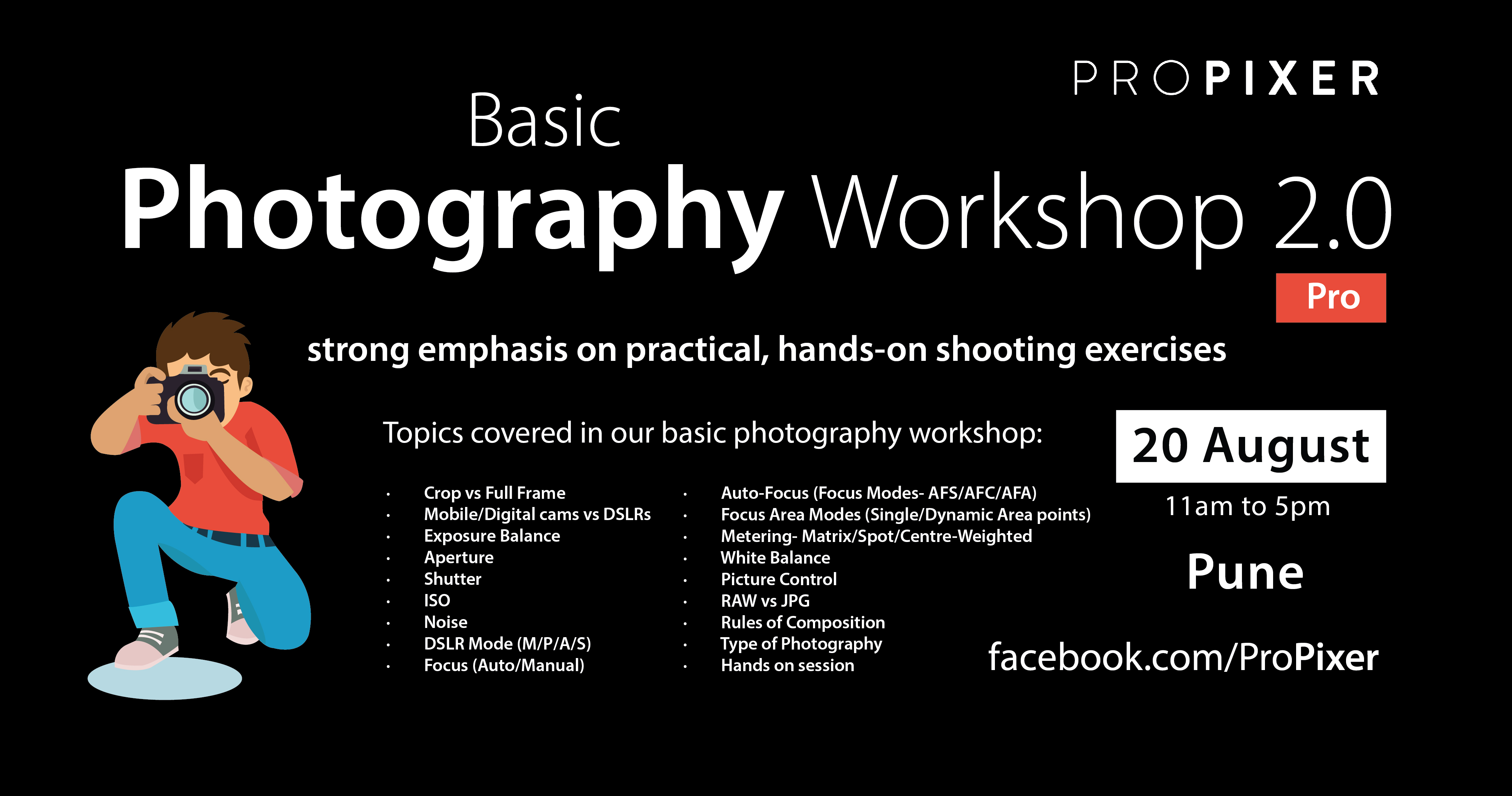 Basic Photography Workshop 2.0