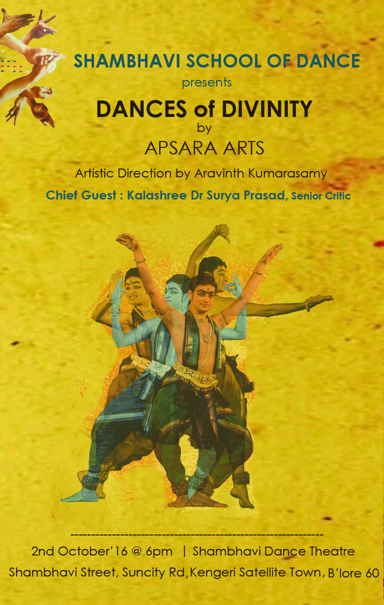 Shambhavi School of Dance - Celebrate Dance Series Oct 2016