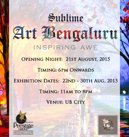 Sublime Galleria presents Art Bengaluru 2015