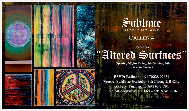 Altered Surfaces, an Art Exhibit by Andrew Paul