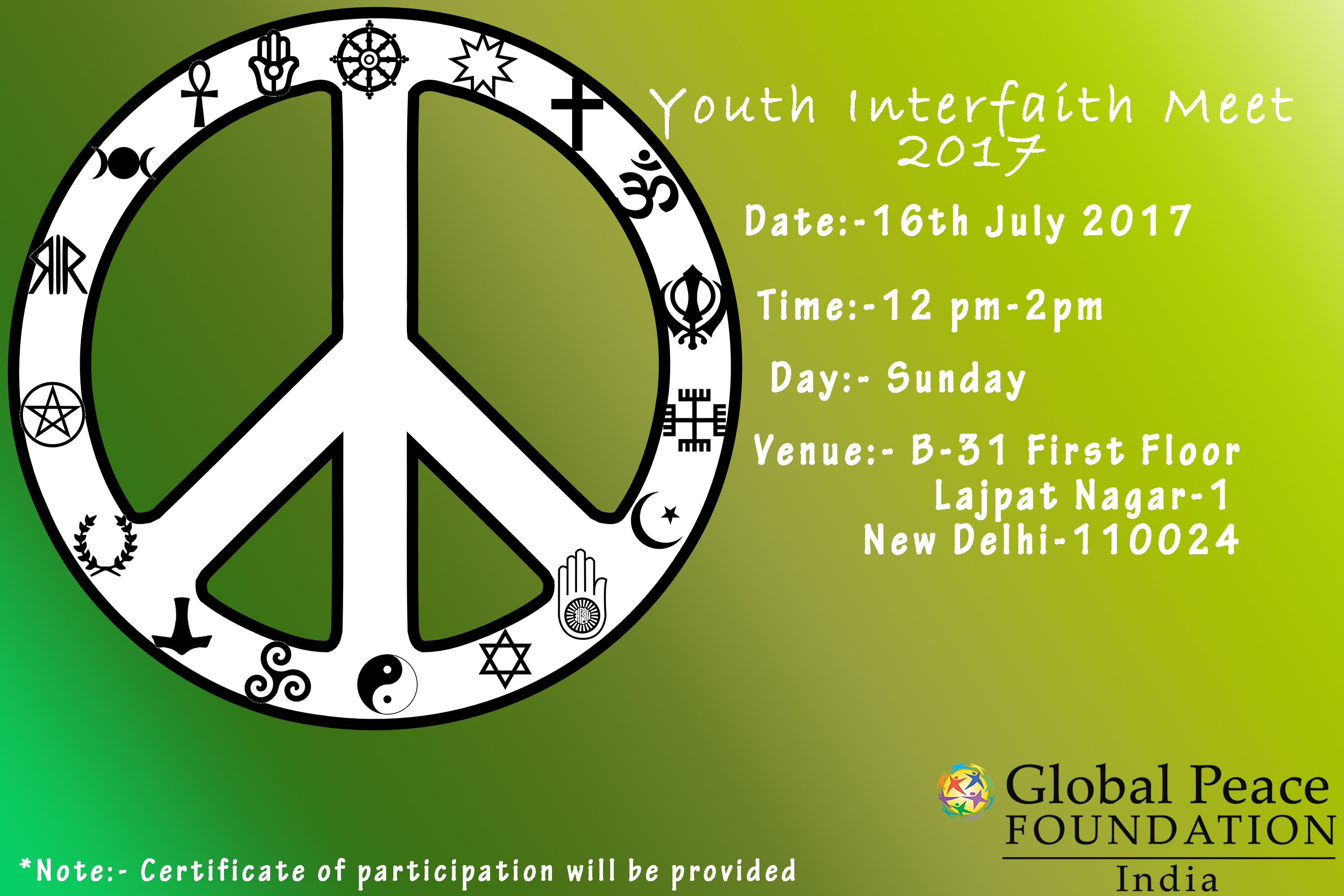 Youth Interfaith Meet