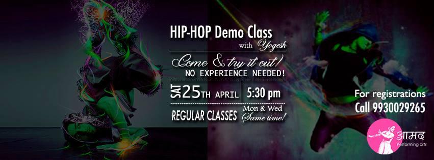 FREE Hip-Hop Demo Class