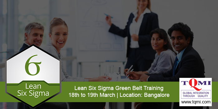 Lean Six Sigma Green Belt Training Bangalore