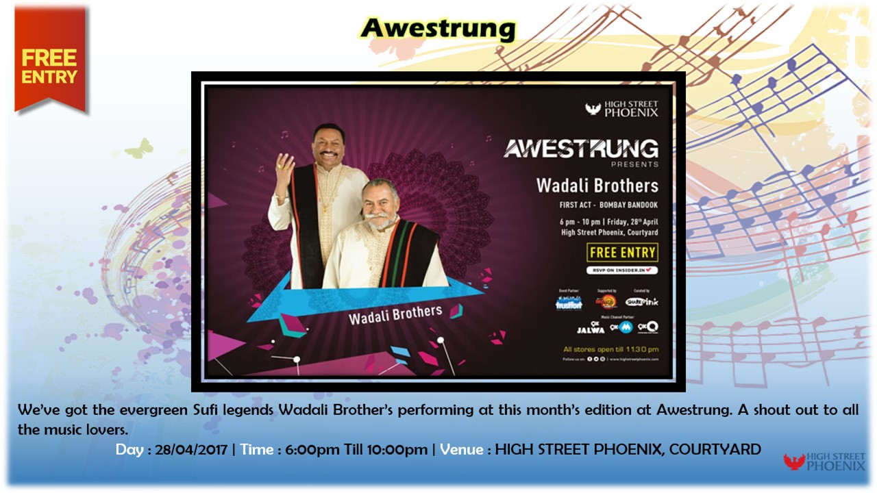 This Awestrung Enjoy Sufi Music with Wadali Brothers | 28th April 2017