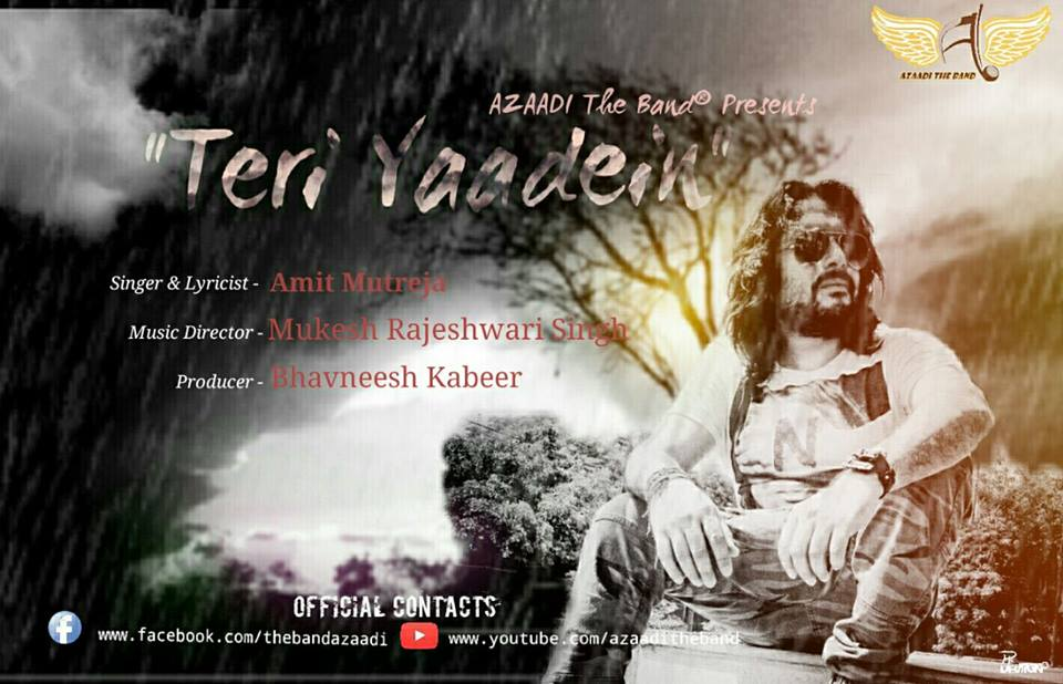 Casting Auditions For Upcoming Video Album Teri Yaadein© By AZAADI The Band®
