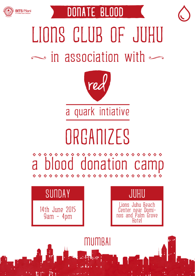 RED- Blood Donation Drive