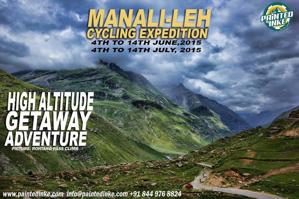 Manali to Leh - Cycling expedition- 4-14th July & 26July- 5 Aug