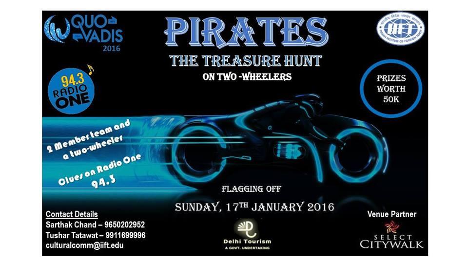 PIRATES-city wide treasure hunt