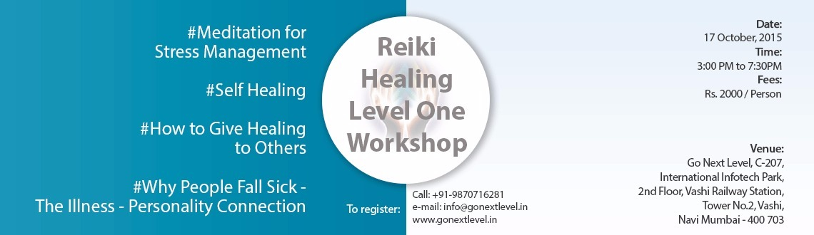 Reiki Healing Workshop Level 1
