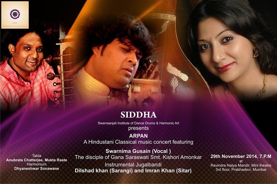 SIDDHA | Classical Music concert in Mumbai|