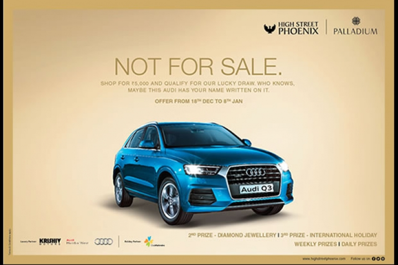 Shop & Win Brand New Audi at High Street Phoenix