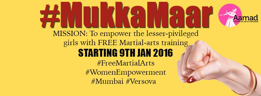 #MukkaMaar- FREE Martial-arts for the lesser-privileged girls