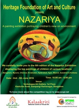NAZARIYA - 6th edition of childrens painting exhibition