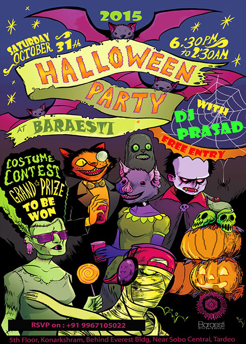 HALLOWEEN'S PARTY AT BARAESTI