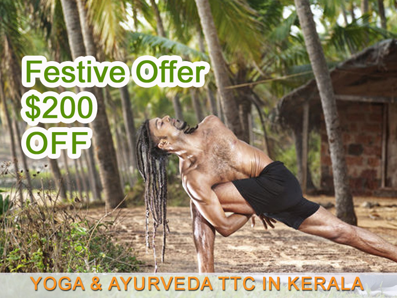 Enjoy 200 Hour Yoga Teacher Training in Beautiful Kerala