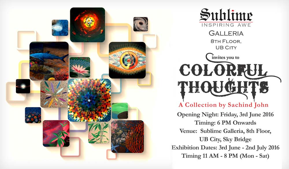 Colorful Thoughts: An Art Collection by Sachind John